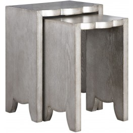 Imala Natural Ash Nesting Tables Set of 2
