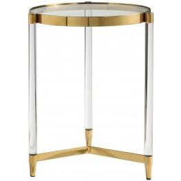 Kellen Glass Accent Table