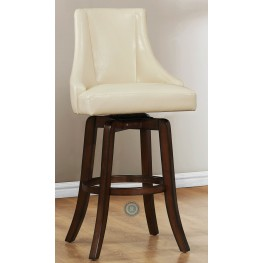 Annabelle Cream Pub Height Chair Set of 2