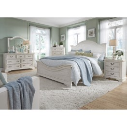 Bayside Bedroom White Panel Bedroom Set