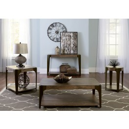 Sapphire Lakes Bark Rectangular Occasional Table Set