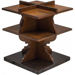 Niko Honey Brown Accent Table
