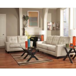Paulie DuraBlend Taupe Living Room Set