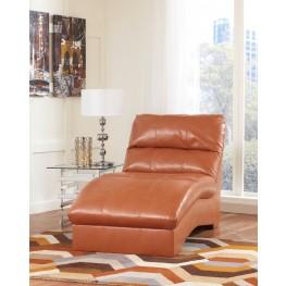 Paulie DuraBlend Orange Chaise