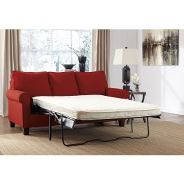 Zeth Crimson Full Sofa Sleeper
