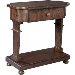 Gesso Brown Accent Table