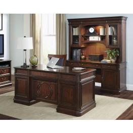 Brayton Manor Cognac Home Office Set