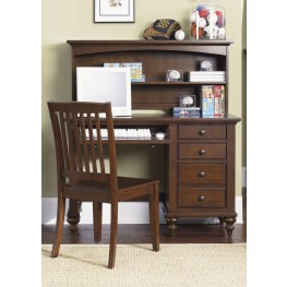 Abbott Ridge Student Desk With Hutch