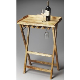 Highland Artifacts Folding Wine Rack