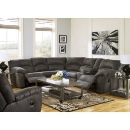 Tambo Pewter Reclining Sectional