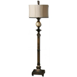 Tusciano Dark Bronze Floor Lamp