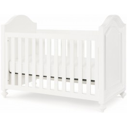 Nursery Natural Painted White Stationary Crib