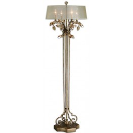 Alenya Gold Floor Lamp