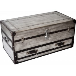 Aeroway Rect Trunk Cocktail Table with Casters