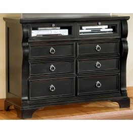 Heirloom Black Entertainment Chest