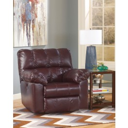 Kennard Burgundy Rocker Recliner