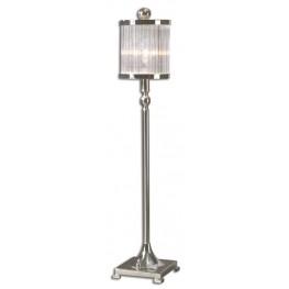 Cordelia Silver Buffet Lamp