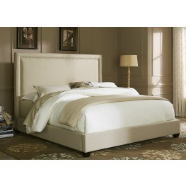 Upholstered Beds Queen Panel Bed