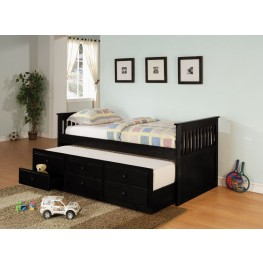La Salle Black Day Bed - 300104