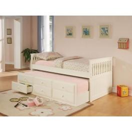 La Salle White Day Bed - 300107