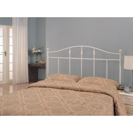 White Metal Twin Size Headboard 300183T