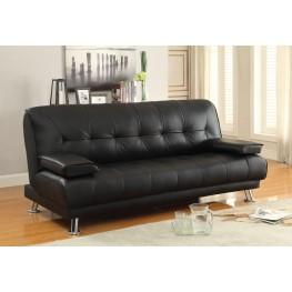 Braxton Black Sofa Bed