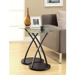 3013 Cappuccino Bentwood 2Pcs Nesting Tables