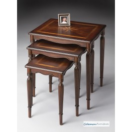 Plantation Cherry 3021024 Nest of Tables