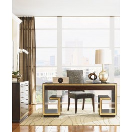 Bel Aire Walnut Home Office Set