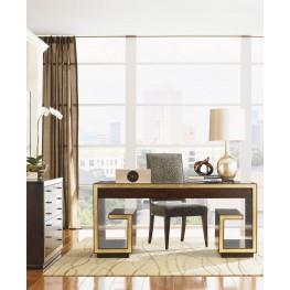 Bel Aire Walnut Brentwood Writing Desk