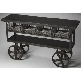 Antietam Industrial Chic Metalworks Trolley Buffet