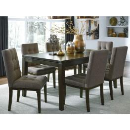 Belden Place Brown Rectangular Leg Dining Room Set