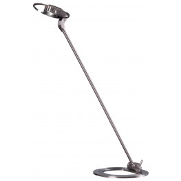 Odo Nickel LED Desk Lamp