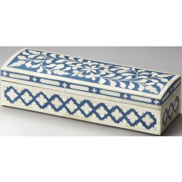 Hors D'oeuvres Amanda Rose Bone Inlay Storage Box