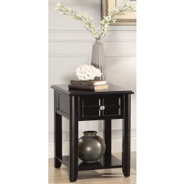 Carrier Brown Chairside Table