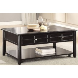 Carrier Brown Lift Top Cocktail Table
