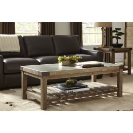 Bluestone Top Brown Occasional Table Set