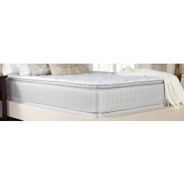 Marbella II Gray Pillow Top Queen Mattress