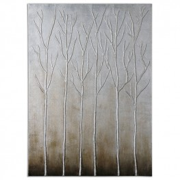 Sterling Trees Hand Painted Art