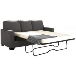 Zeb Charcoal Full Sofa Sleeper