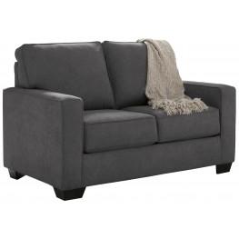 Zeb Charcoal Twin Sofa Sleeper