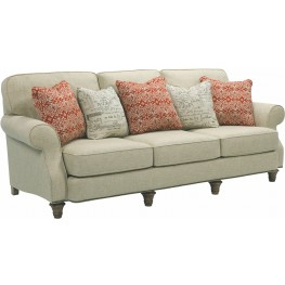 Whitfield Walnut Woven Fabric Sofa