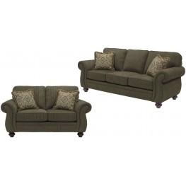 Cassandra Affinity Chenille Fabric Living Room Set