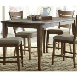 Pebble Creek I Weathered Butterscotch Extendable Gathering Table