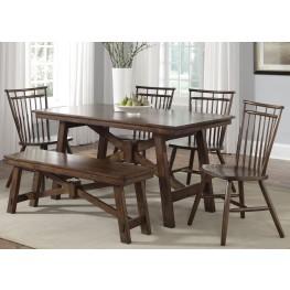 Creations II Rectangular Leg Dining Room Set