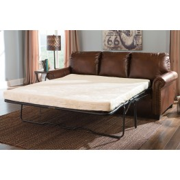 Lottie DuraBlend Chocolate Queen Sofa Sleeper