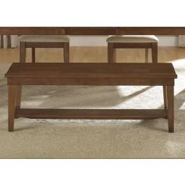 Hearthstone Rustic Oak Bench