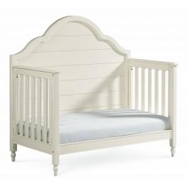 Inspirations Seashell White Grow With Me Convertible Crib