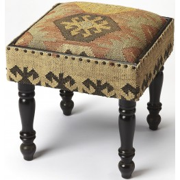 Mountain Lodge Mesquite Jute Stool