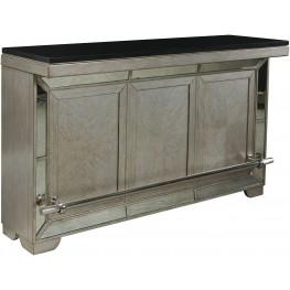 Farrah Silver Bar Cabinet